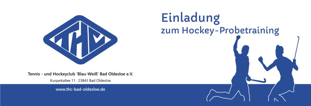 Gutschein Hockey-Probetraining