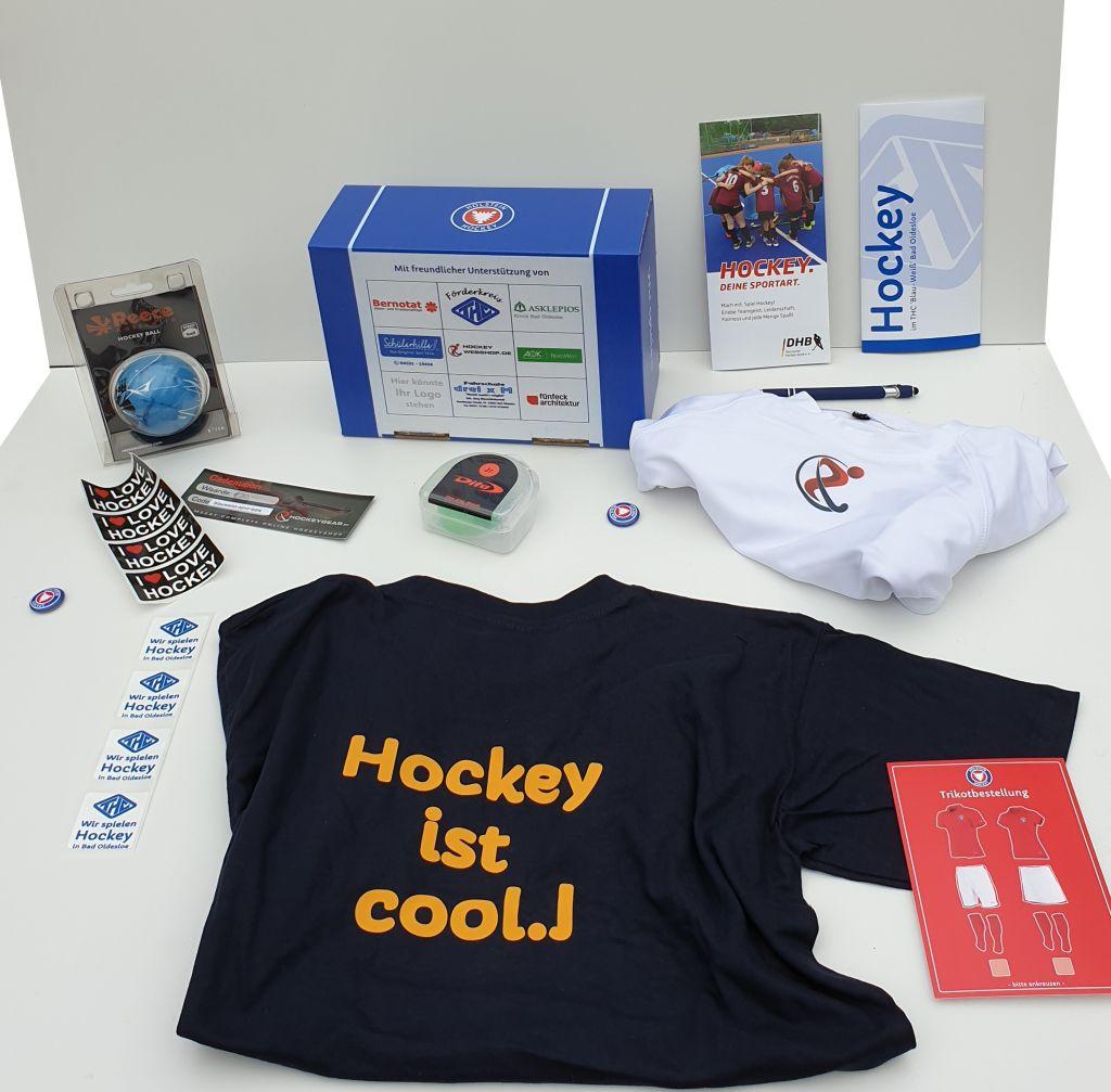Die Hockey-Willkommensbox ist da!