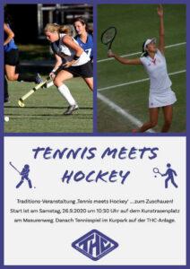 Die Traditionsveranstaltung – Tennis meets Hockey