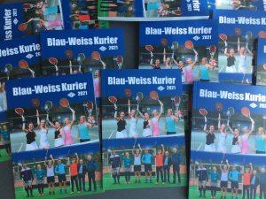 Read more about the article Der neue Blau-Weiß-Kurier 2021