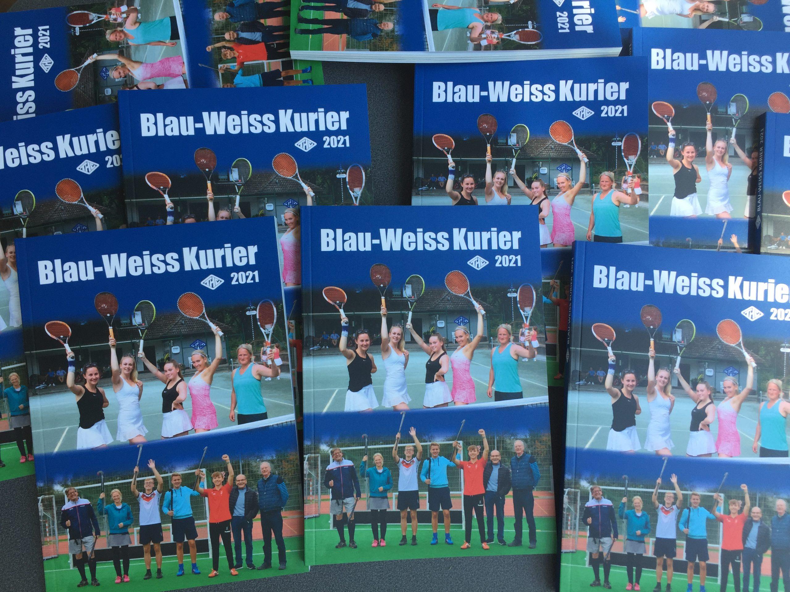 You are currently viewing Der neue Blau-Weiß-Kurier 2021