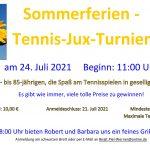 Sommerferien Turnier-Ausschreibung
