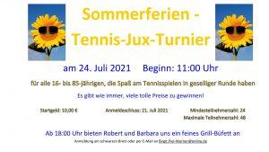 Read more about the article Sommerferien Turnier-Ausschreibung